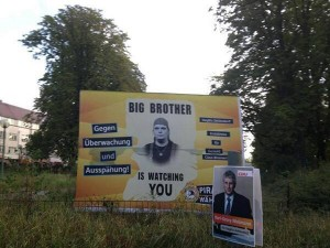 Big Brother ist watching you: In diesem Fall ein Piraten-Abgeordneter.